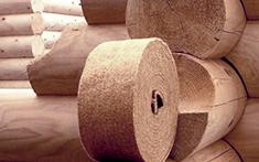 Джут ватин 20 см х длина 20 м (Толщина 6-7 мм, плотность 300 г/м)